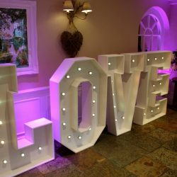 LED Love Letters Lincolnshire